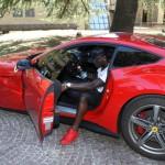 Balotelli e la Ferrari!