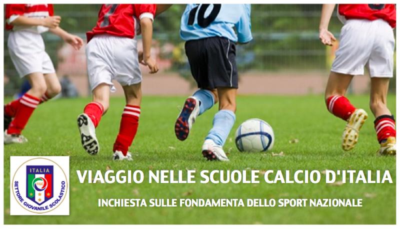 reportage scuola calcio
