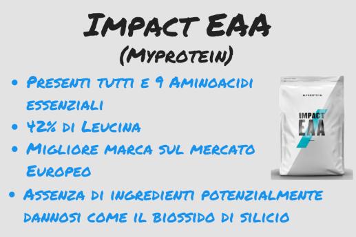 impact eaa myprotein