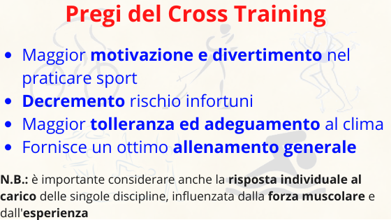 cross training recupero