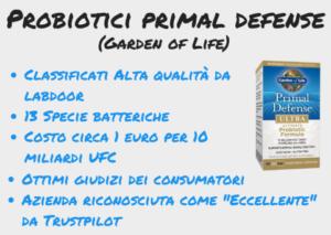 integratore probiotici migliore