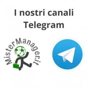canali telegram mistermanager