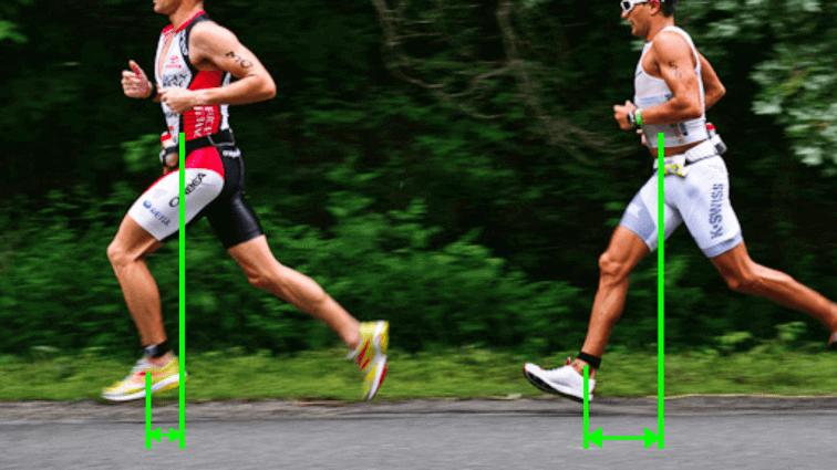 corsa overstriding